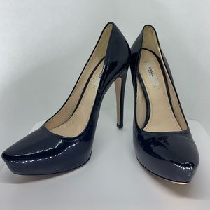 NWOT Prada Hidden Platform Pointy Toe Patent Pumps